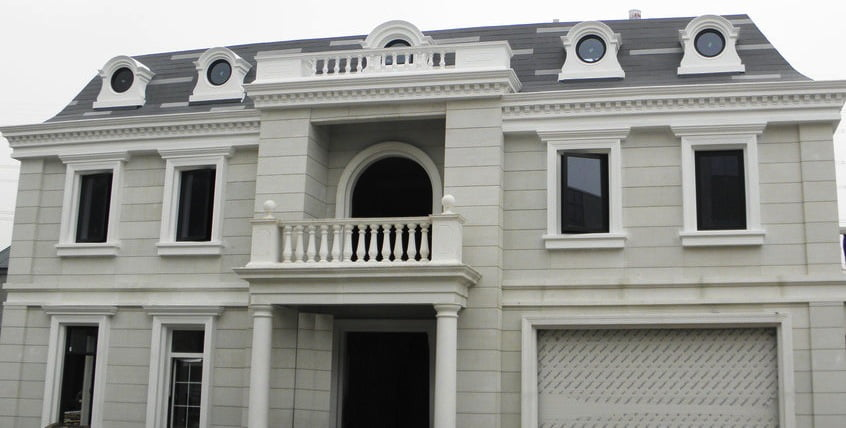3d printed concrete villa