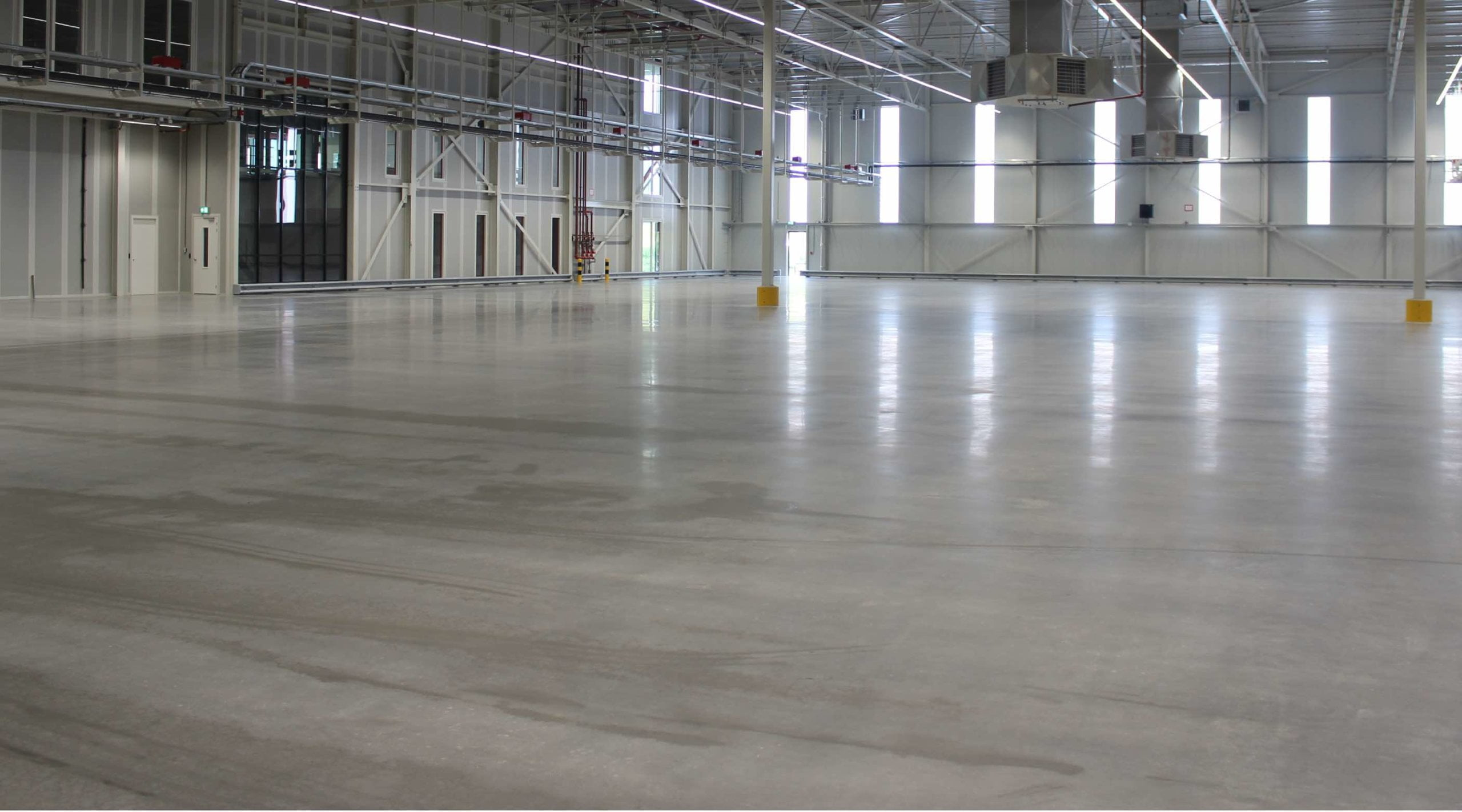 Eco friendly industrial floor