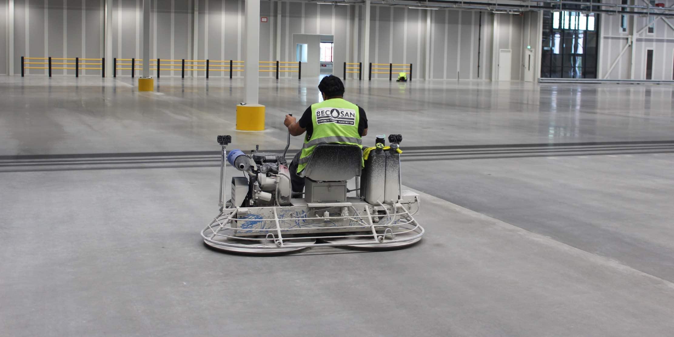 Ecological industrial floor