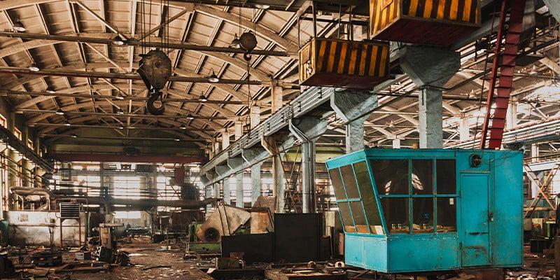 Nave Industrial Abandonada