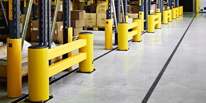 Industrial shelving protections