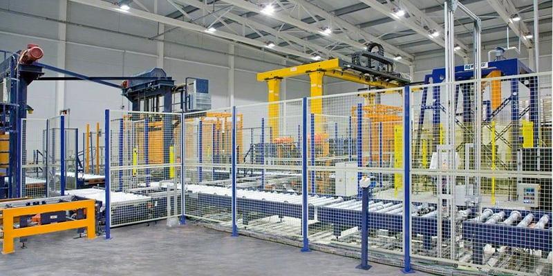 Industrial building enclosures
