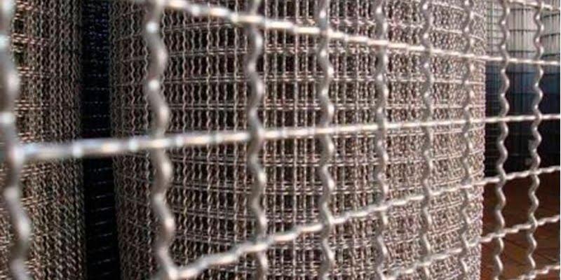 Corrugated fabric enclosure