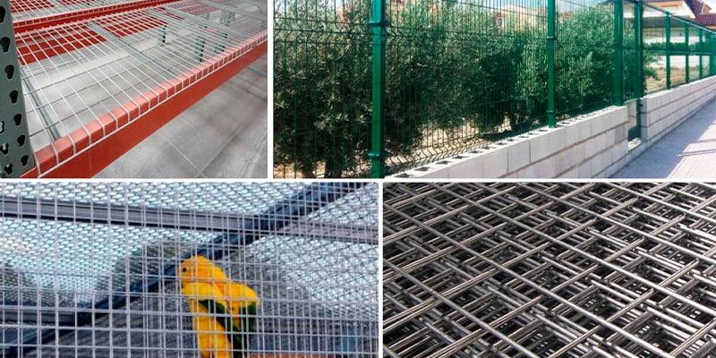 Electrowelded mesh