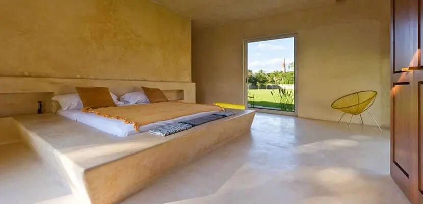 Habitacion De Cemento Pulido