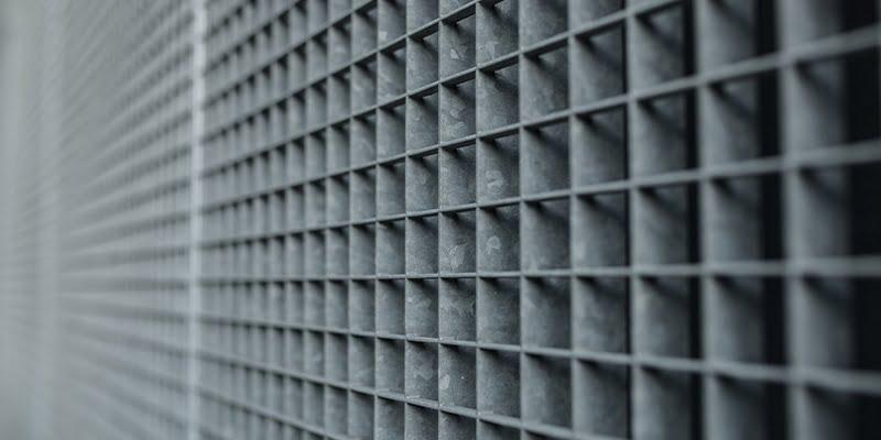 Latticework metal enclosures