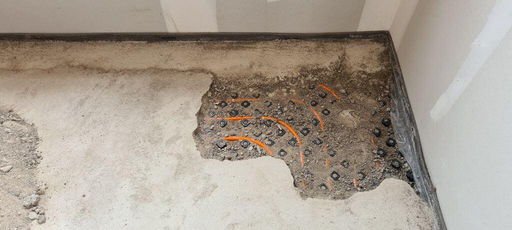 Suelo De Cemento Pulido Arenoso