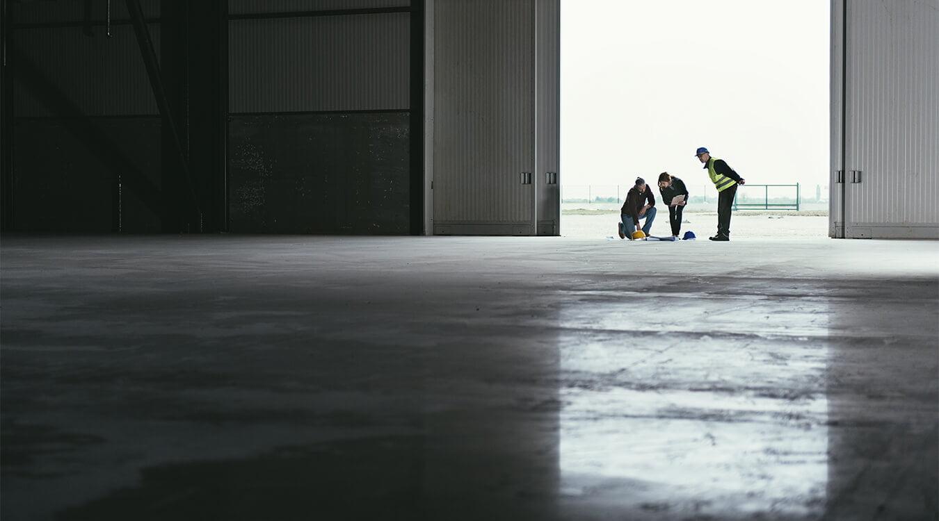 Industriehalle Sanieren