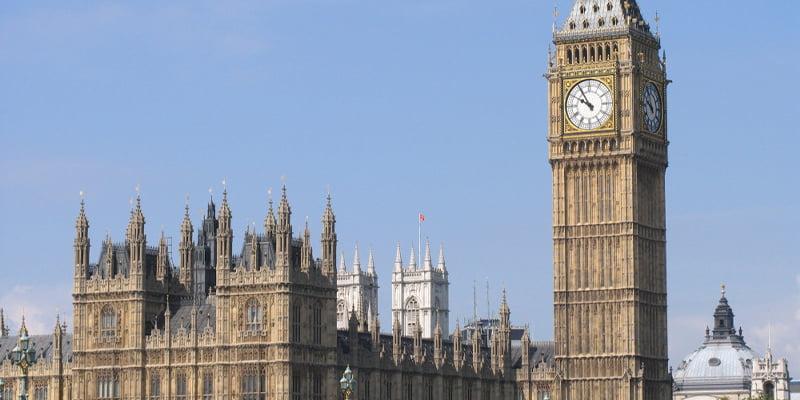 Parlamento del cemento Portland Londra