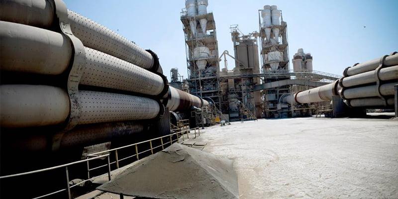 Produzione di cemento Portland