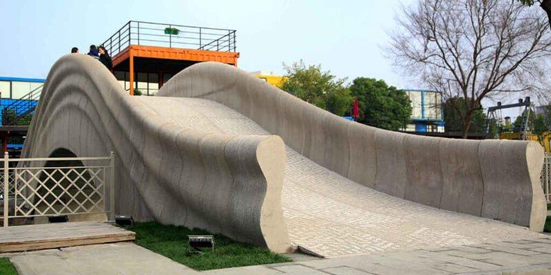 Puente De Hormigon 3D