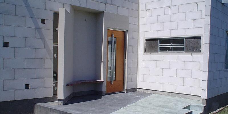 Cellular Concrete Housing