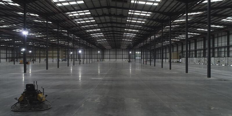 Slip-resistant flooring in industry