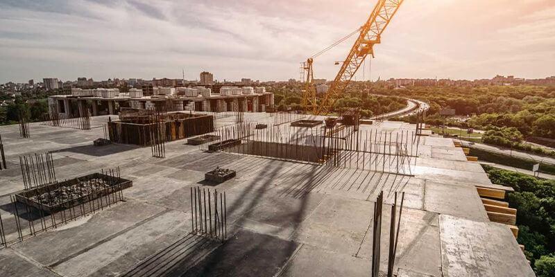 Construcción Estructuras De Hormigón Duraderas