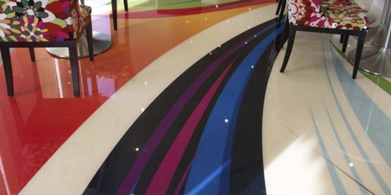Pavimentos Decorativos Multicapa