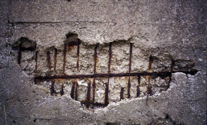 Spalled Concrete
