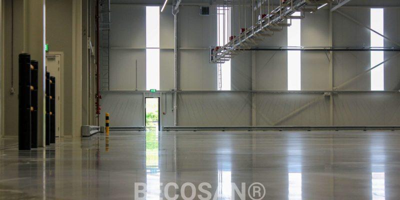 hordijk Verpakkingsindustrie Bv. Industrial Floor Treatment