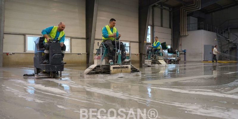 ETC Connect - Warehouse new concrete floor00005