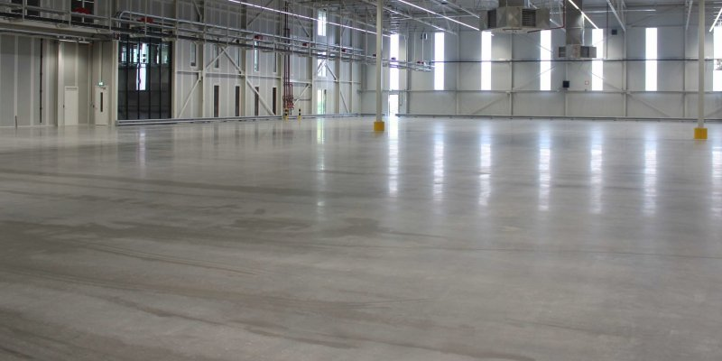 Eco friendly industrial floor