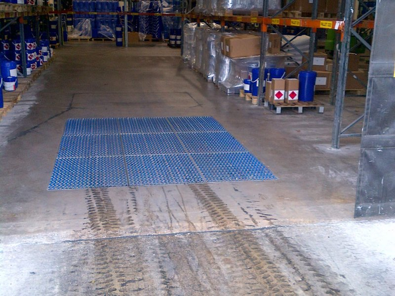 Cleaning Tyre Marks Facility