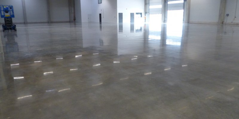 new concrete finish for industrial use