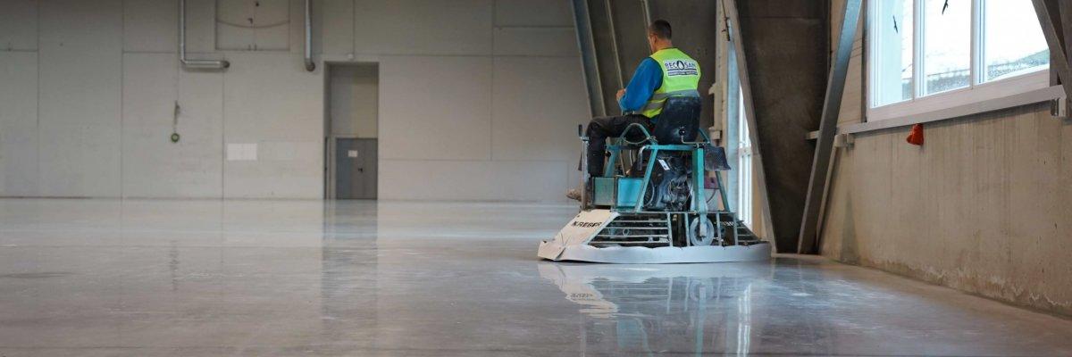 industrial floor finishing