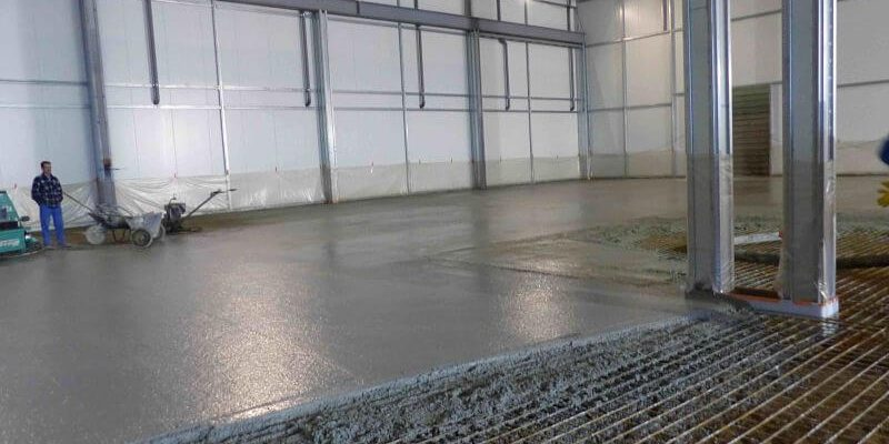 plancher du sols beton lise